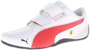 e96bc77a6bb1 PUMA Men s Drift Cat 5 Ferrari AC NM Motorsport Shoe White Rosso ...