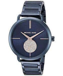 Michael-Kors-MK3680-Women-039-s-Quartz-Stainless-Steel-Casual-Blue-Watch
