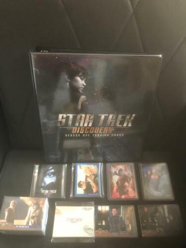 STAR TREK DISCOVERY SEASON 1 ULTIMATE MINI-MASTER SET WITH BINDER++