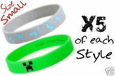 Official J!NX Creeper Wristbands (x10) - Minecraft Birthday Party filler/favours