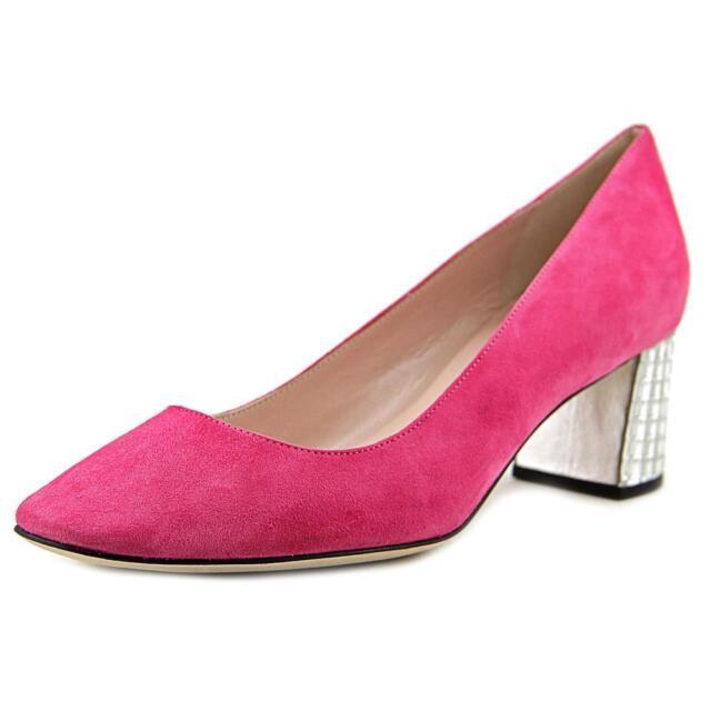 a18911b9f9a9 New Kate Spade new york Danika Too Studded Block Heel Dress Pumps - Pink  Swirl