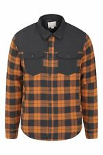 Mountain Warehouse Men Flannel Padded Shacket Shirt