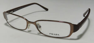 PRADA-VPR55G-FASHIONABLE-HOT-SIGNATURE-LOGO-EYEGLASSES-EYEWEAR-EYEGLASS-FRAME