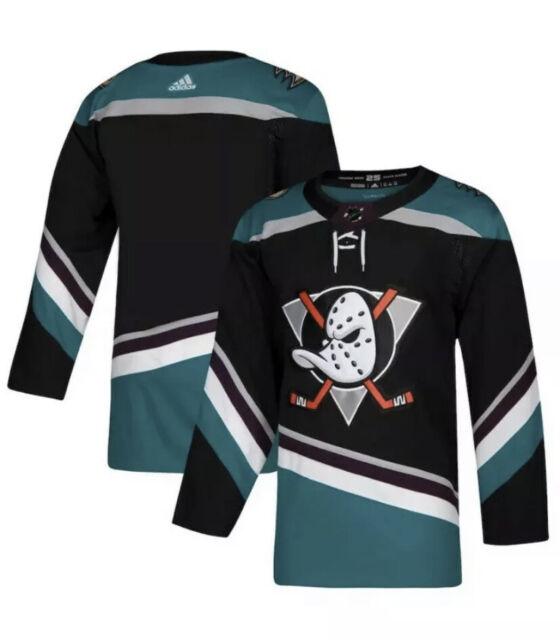 adidas Authentic Anaheim Ducks Pro NHL 25th Silver Hockey 3rd ...