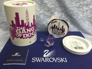 Swarovski Lovlots Limited Edition Violetta. Purple Poodle Retired 2008. MIB