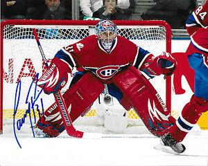 Carey Price Signed Auto Montreal Canadiens 8x10