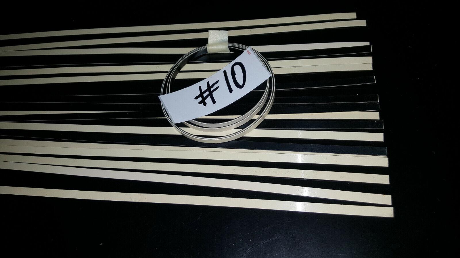 "1x Washburn Guitar Cream Black  Binding 51/"" fits Martin Gibson Fender Guild  #10"