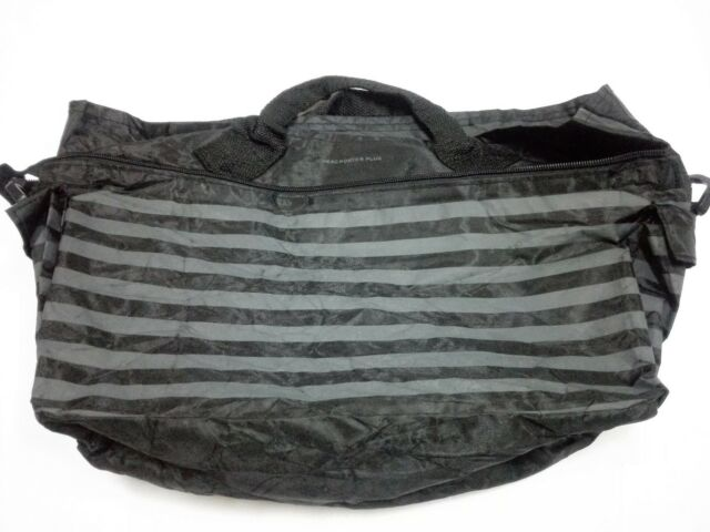 84d2b46177 Head Porter Plus Yoshida Tote Shopping Bag Striped Hand Carry Water Proof