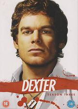 DEXTER - Series 3. Michael C Hall, Julie Benz, James Remar (4xDVD BOX SET)