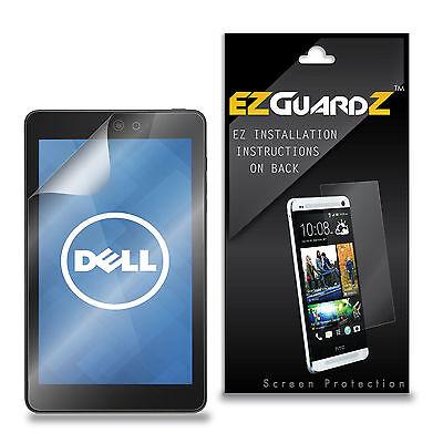 3X EZguardz Clear Screen Protector Shield Cover 3X For Dell Venue 8 Model 3830