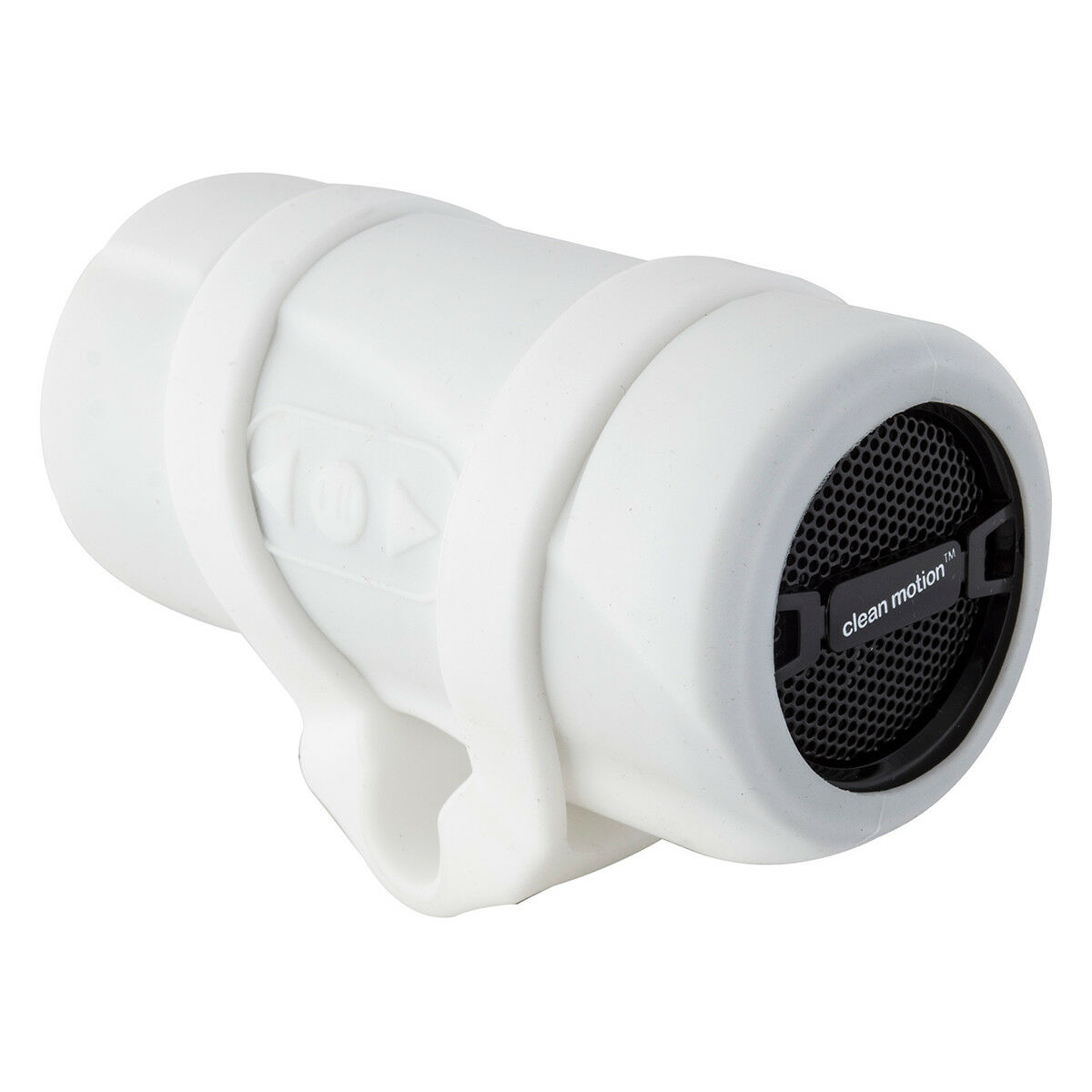 CLEAN MOTION SONICA BICYCLE HANDLEBAR MOUNT WHITE blueETOOTH SPEAKER