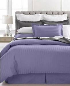 NEW-CHARTER-CLUB-DAMASK-SOLID-LIGHT-ORCHID-PURPLE-TWIN-BEDSKIRT-16-034-DROP