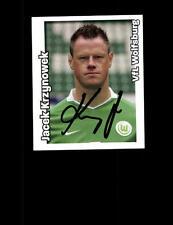 Jacek Krzynowek VfL Wolfsburg Sammelbild 2008-09 Original Signiert + A 153530