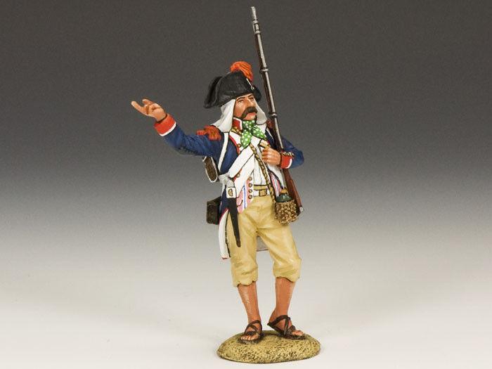 King and Country NE004 NE04-Soldato di puntamento-napoleonics-Scala 1 30