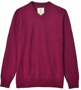 V Jumper d'agnello Jasper Men's maglia scollo V 42 Large Size New Lambswool Conran a neck Conran Large in lana con New 42 Men`s e taglia Jasper zBYxnB