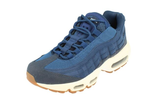 Womens Nike Air Max 95 Blue Leather Trainers SNEAKERS UK 5 Kids ... 56c3c2ea13d