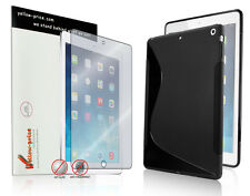 Slim Black Soft TPU Back Case Protective Cover Shell For Apple iPad Air 2 iPad 6