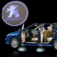 Peugeot 12V Car Logo Cree LED Ghost Shadow Door Light Laser Kit Set Pair