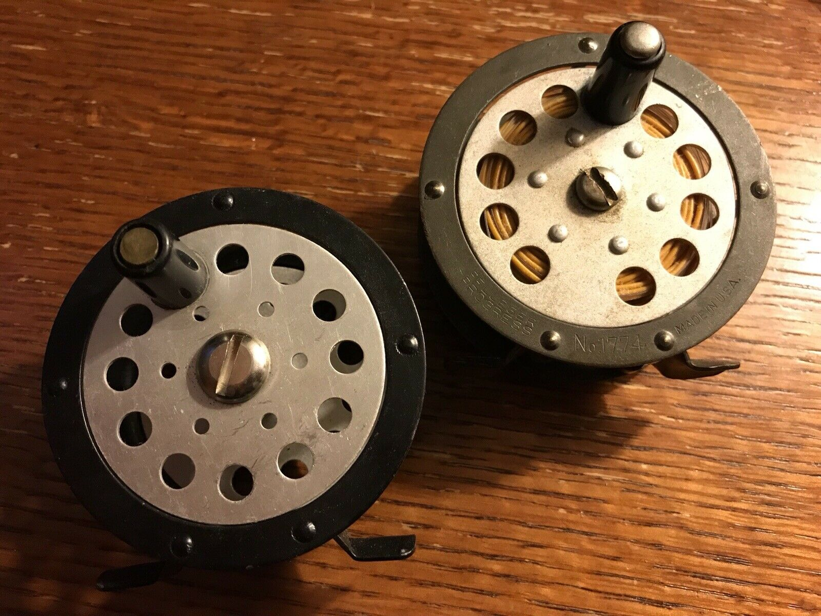 Vintage Classic Pflueger Progress 1774 Fly Fishing Reel + Japan Made Copy