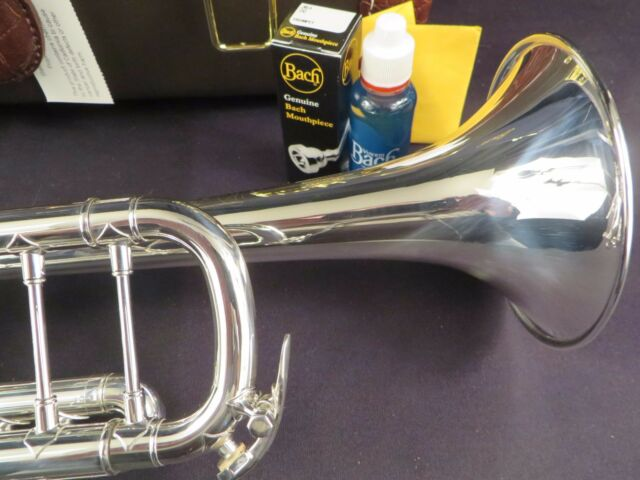 Bach Stradivarius 180S37 Bb Trumpet Silver Mint w//h tags and box