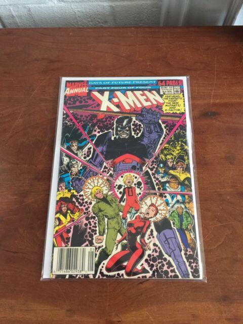 """X-Men Annual #14 (1990) ~ Cameo """"Gambit"""" (predates Uncanny X-Men #266)"""