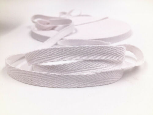 2018 NEW 5//10Yards 10mm WIDE WEBBING POLYESTER APRON TAPE  Free shipping