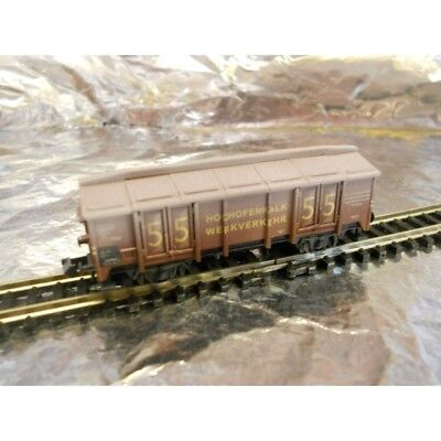 ** Minitrix 2004 Nurnberg 2004 Toy Fair Vom Erz Zum Stahl Wagon 1:160 N Scale Gamma Completa Di Articoli