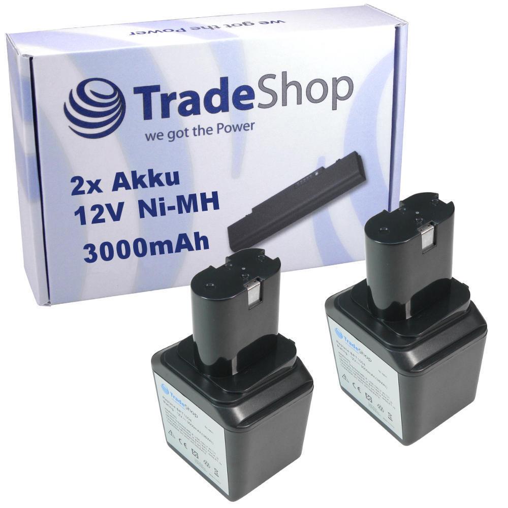 2x Premium AKKU 12V 3000mAh Ni-MH ersetzt Skill 92931 92931 92931 für HD2645 92303 2730 2940 6dd798