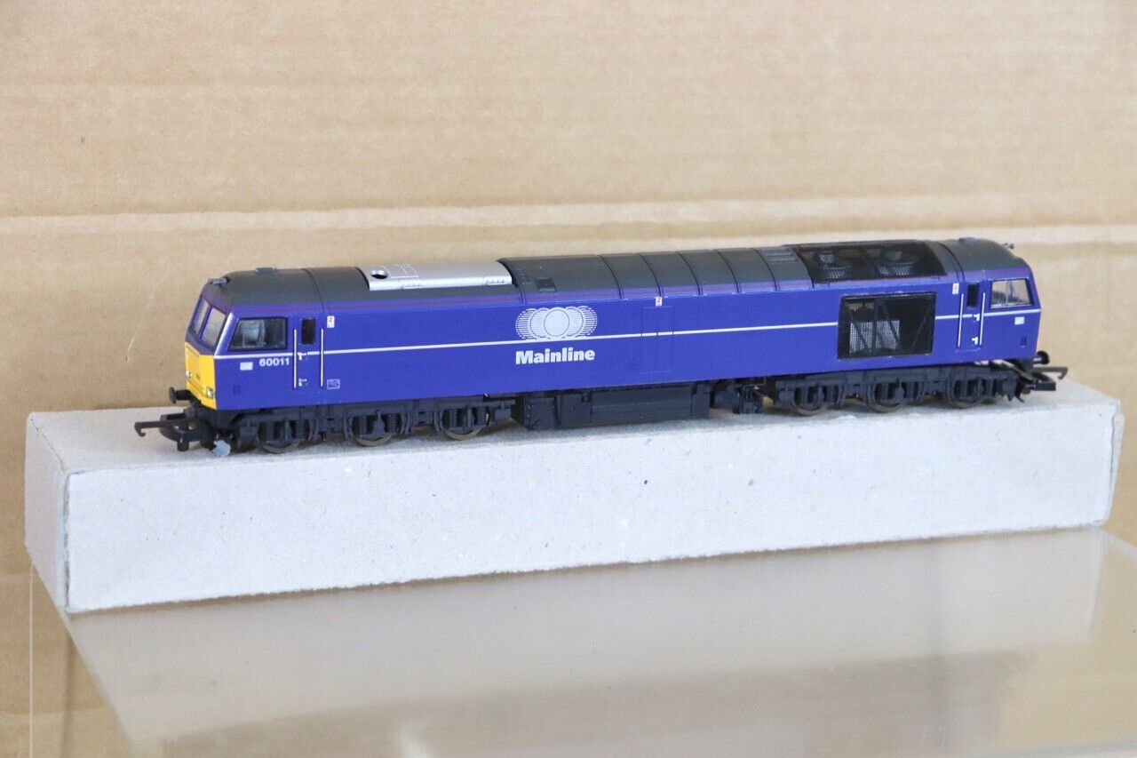 LIMA RE PAINTED BR MAILLINE classe 60 DIESEL LOCOMOTIVE 60011 nt
