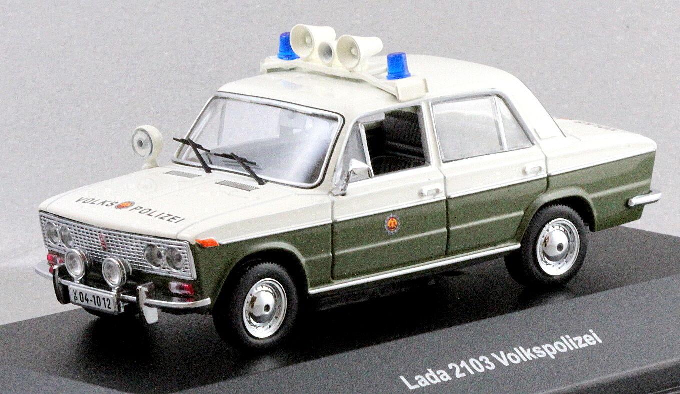 Maßstab 1  43 autos & co ccc050 ostdeutschen vaz 2103 lada volkspolizei nib