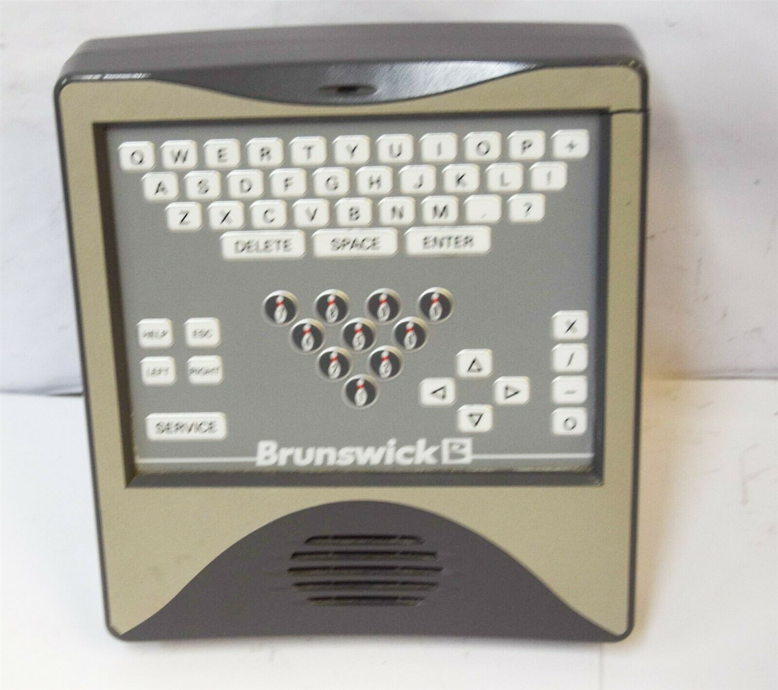 Brunswick Bowling Alley Control Panel Scorer