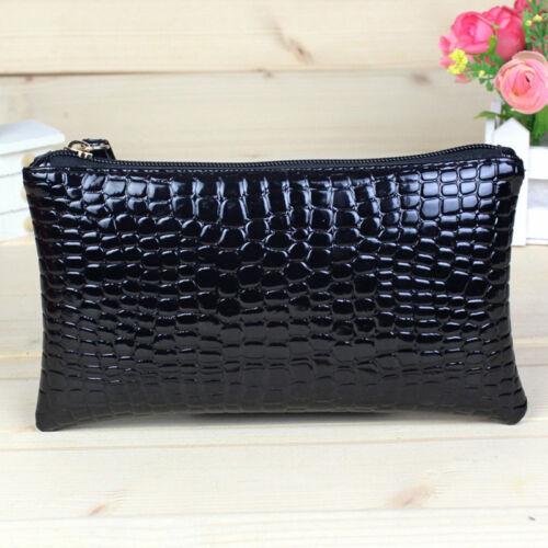 Bag Ladies Wallet Hand Bag Fashion Mobile Long Crocodile Grain Change Purse