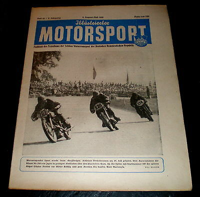 Illustrierter Motorsport 15/55 Schleizer Dreieck 1955,weltfestspiele In Warschau Das Ganze System StäRken Und StäRken Berichte & Zeitschriften