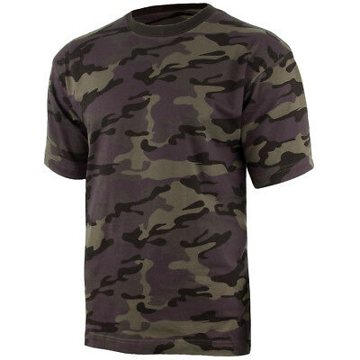 MFH Mens US Style T-Shirt 100/% Cotton Operation Camo