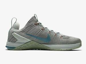 Nike-Metcon-DSX-Flyknit-2-Grau-38-5-Cross-Trainingsschuhe-Damen-WMNS-924595-040