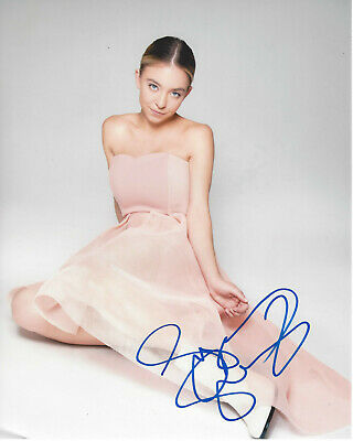 Autographs-original Special Section Sydney Sweeney Signed Authentic 'sharp Objects' 8x10 Photo C W/coa Sexy Actress Good Heat Preservation