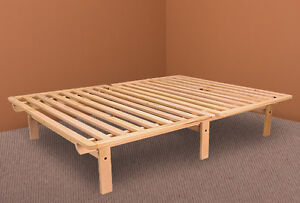 Bed Frame Solid Wood Ekko Platform Bed Frame Twin Full