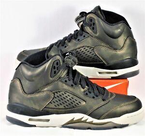 7b31b2fe561e8 Nike Air Jordan Retro 5 V Premium HC Heiress Camo Black Sz 5.5Y NEW ...