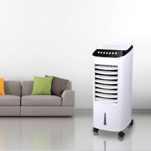Portable-Evaporative-Air-Cooler-Fan-Indoor-Cooling-Humidifier-w-Remote-Control