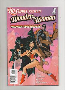 DC Comics Presents: Wonder Woman #1 - Adam Hughes Cover - (Grade 9.2) 2011
