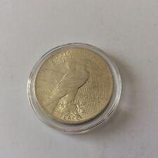 Pièce de 1 dollar  Peace USA en argent 1923 avec certificat