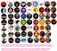 Chapa-Button-Badge-Pins-The-Walking-Dead-Juego-de-Tronos-Spartacus miniatura 1