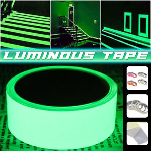 1-3m Self-adhesive Luminous Tape Glow In The Dark Safety Stage Home