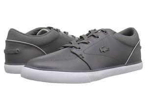 Scarpa-UOMO-LACOSTE-HO-318-2-Fashion-Sneaker-36CAM00072G4-Dark-Grigio-Chiaro-Nuovo