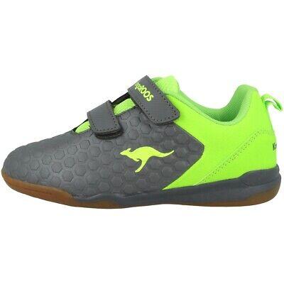 Kangaroos Speed Court V Sneaker Bambini Scarpe Da Ginnastica Steel Grey 18384-2014- Aiutare A Digerire Cibi Grassi