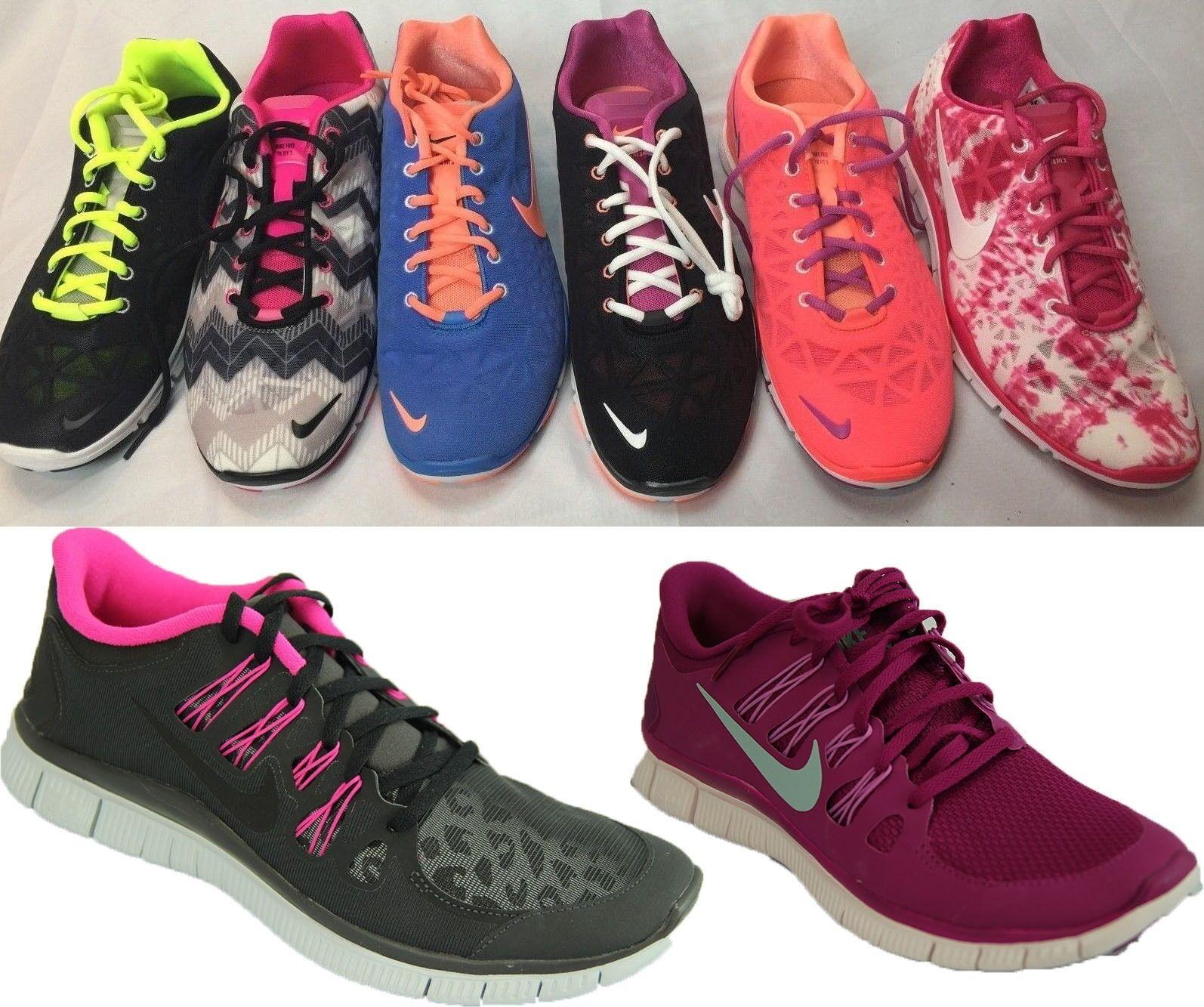 Nuove nike formazione scarpe da donna libera formazione nike corrispondono 3 stampa rosa nero: blu verde 5,0 e36589