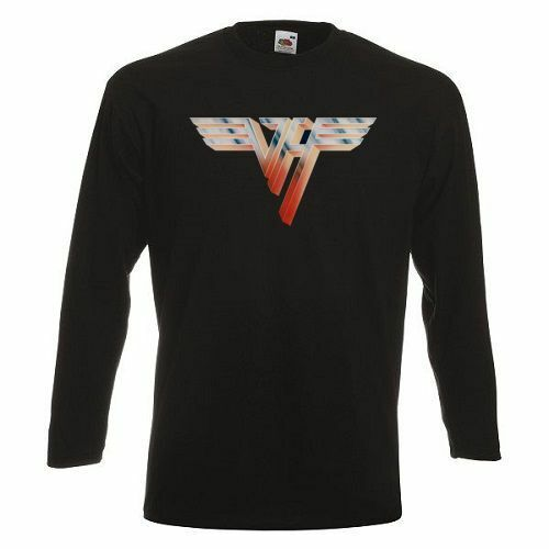 Van Halen Logo Long Sleeve T-shirt  Rock Band Shirt Long Sleeve Tee