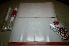 5 Wisconsin Badgers 2 window vinyl decals magnet Football Helmet Hyundai flags