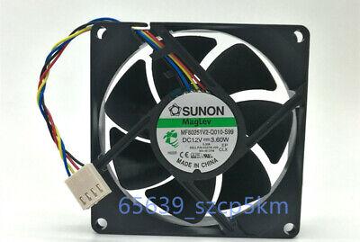 Dell OptiPlex 7010 9010 3650 3655 Rear Case Fan SUNON P//N MF80201VX-Q060-S99