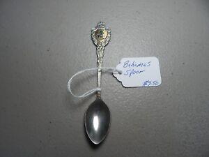 Vintage-Bahamas-Collectible-Souvenir-Spoon